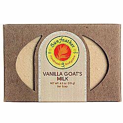 Sunfeather Vanilla Goat's Milk Soap