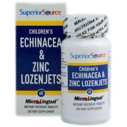Superior Source Children's Echinacea and Zinc Lozenjets