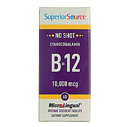 Superior Source No Shot B12 Cyanocobalamin