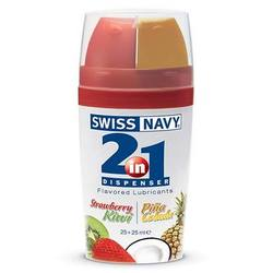 Swiss Navy Side by Side Flavored Lubricant