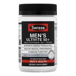 Swisse Men's Ultivite 50+ Multivitamin