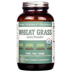 The Synergy Company Wheat Grass Juice Powder
