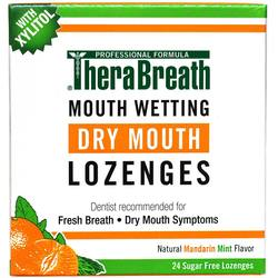 TheraBreath Mouth Wetting Fresh Breath Lozenges