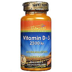 Thompson Vitamin D3 2-500 IU