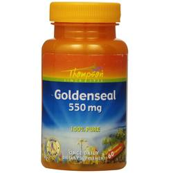 Thompson Goldenseal 550 mg - 60 Capsules