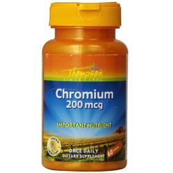 Thompson GTF Chromium 200 mcg