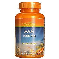 Thompson MSM 1-000 mg