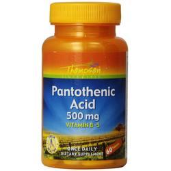 Thompson Pantothenic Acid 500 mg