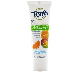 Tom's of Maine Children's Fluoride Toothpaste