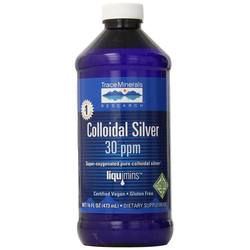 Trace Minerals Research Colloidal Silver 30 PPM