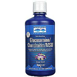 Trace Minerals Research Liquid GlucosamineChondroitinMSM