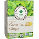 Traditional Medicinals Organic Green Tea Ginger