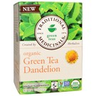 Traditional Medicinals Organic Green Tea Dandelion