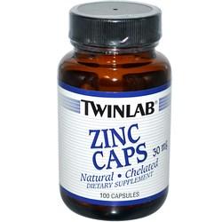 Twinlab Zinc Caps 30 mg