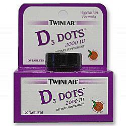 Twinlab Vitamin D3 Dots