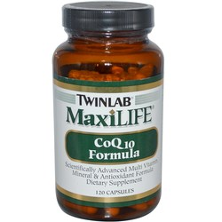 Twinlab MaxiLife CoQ10