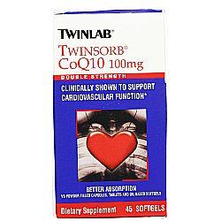 Twinlab Twinsorb CoQ10 100 mg