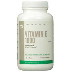 Universal Nutrition Vitamin E