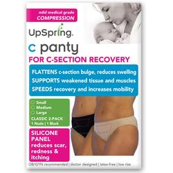 UpSpring Classic Waist C-Section Recovery Underwear 2-Pack