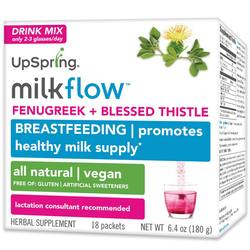 UpSpring Milkflow Fenugreek  Blessed Thistle Drink Mix