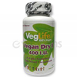 VegLife Vegan Dry E 400 IU