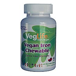 VegLife Vegan Iron Chewable