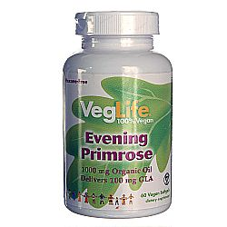 VegLife Organic Evening Primrose Oil
