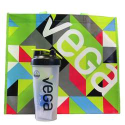 Vega Shaker Cup and Tote Bag