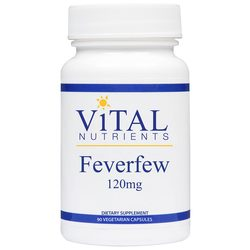 Vital Nutrients Feverfew 120 mg