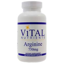Vital Nutrients Arginine 750 mg