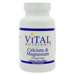 Vital Nutrients Calcium  Magnesium