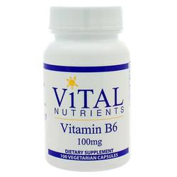 Vital Nutrients Vitamin B6 100 mg