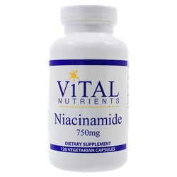 Vital Nutrients Niacinamide 750 mg