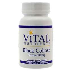 Vital Nutrients Black Cohosh 2.5- 80 mg