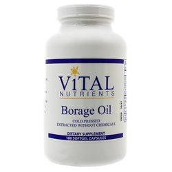 Vital Nutrients Borage Oil 1000 mg