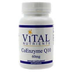 Vital Nutrients Coenzyme Q10 60 mg