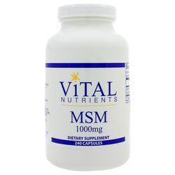 Vital Nutrients MSM 1000 mg