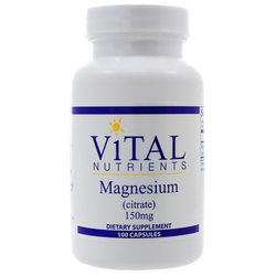 Vital Nutrients Magnesium Citrate 150 mg