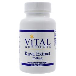 Vital Nutrients Kava Kava 250 mg