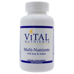 Vital Nutrients Multi-Nutrients wIron and Iodine