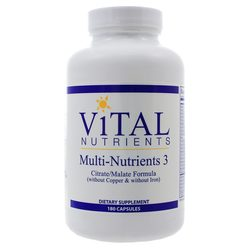 Vital Nutrients Multi-Nutrients 3