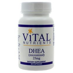 Vital Nutrients DHEA 25 mg