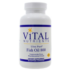 Vital Nutrients Ultra Pure Fish Oil 800
