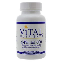 Vital Nutrients d-Pinitol 600 mg (PCOS)