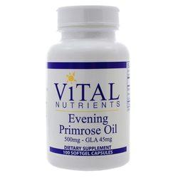Vital Nutrients Evening Primrose 500 mg