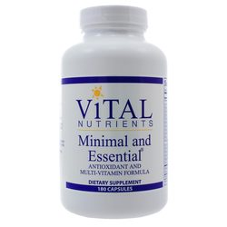 Vital Nutrients Minimal and Essential