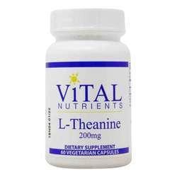 Vital Nutrients L-Theanine 200 mg