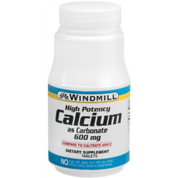 Windmill Health Products Calcium Carbonate 600 mg