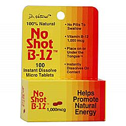 World Organic No-Shot B12
