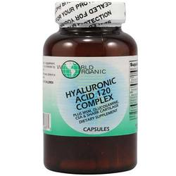 World Organic Hyaluronic Acid 120 Complex
